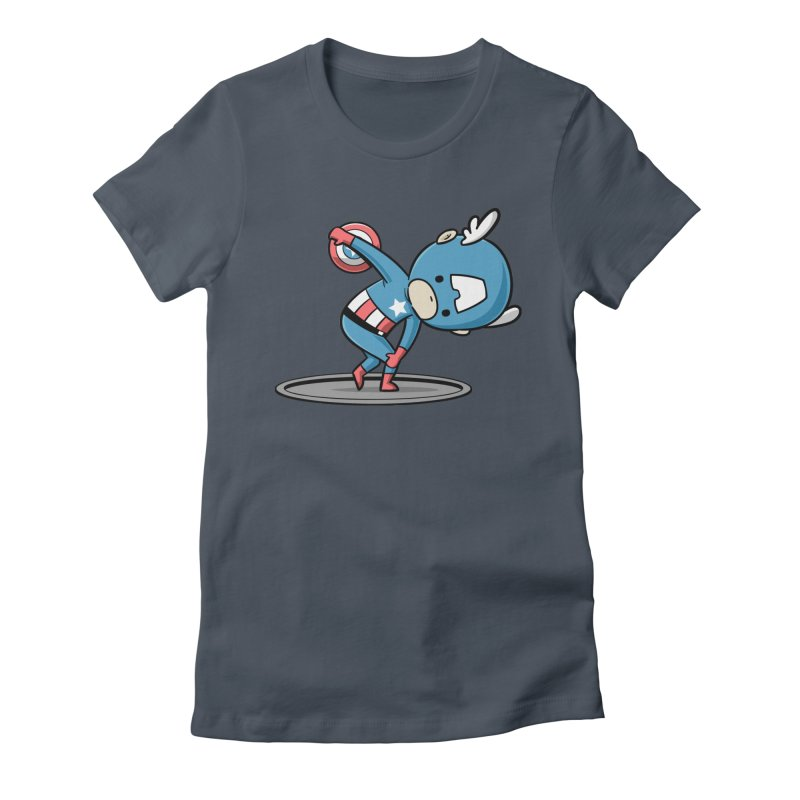 Sporty Buddy - Discus Throw Women's T-Shirt by Flying Mouse365