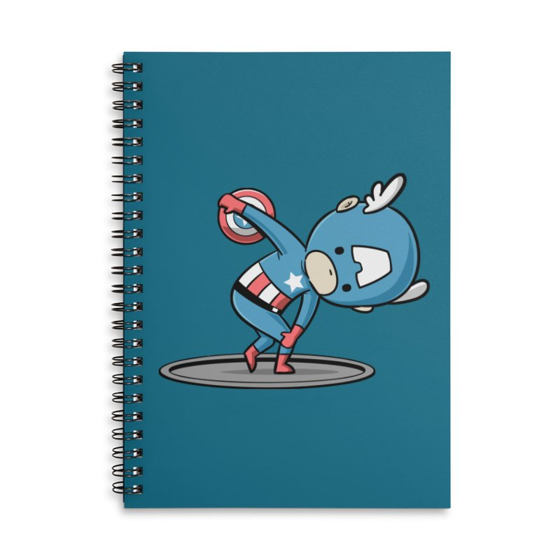 Sporty Buddy - Discus Throw Accessories Notebook by Flying Mouse365