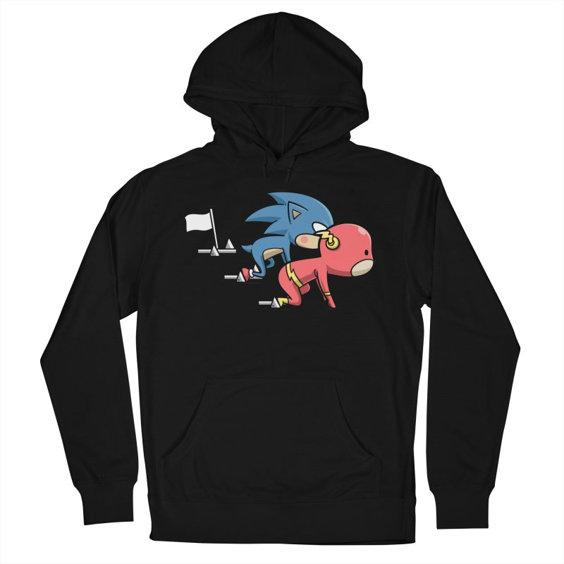 Sporty Buddy - Athletics Women's Pullover Hoody by Flying Mouse365