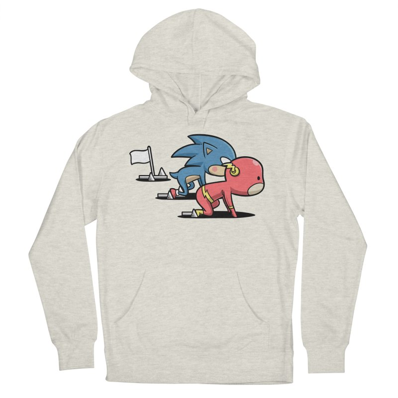 Sporty Buddy - Athletics Men's Pullover Hoody by Flying Mouse365