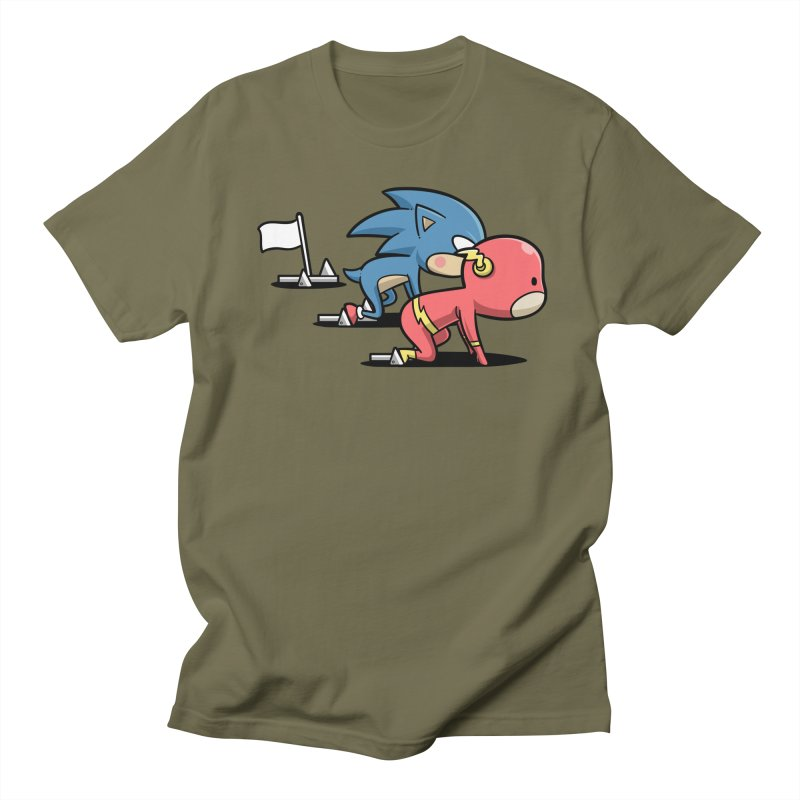 Sporty Buddy - Athletics Men's T-Shirt by Flying Mouse365