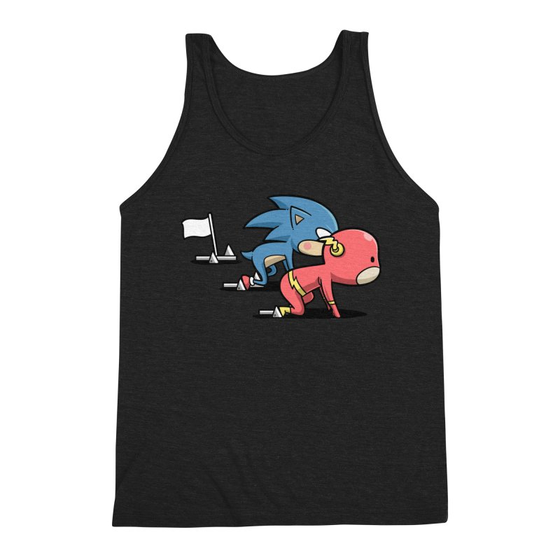 Sporty Buddy - Athletics Men's Tank by Flying Mouse365