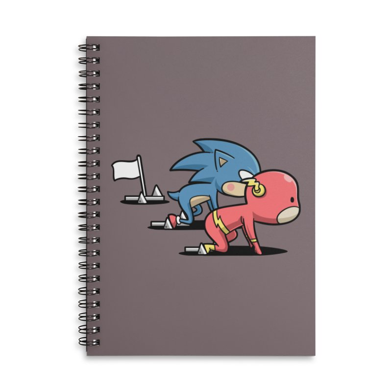Sporty Buddy - Athletics Accessories Notebook by Flying Mouse365
