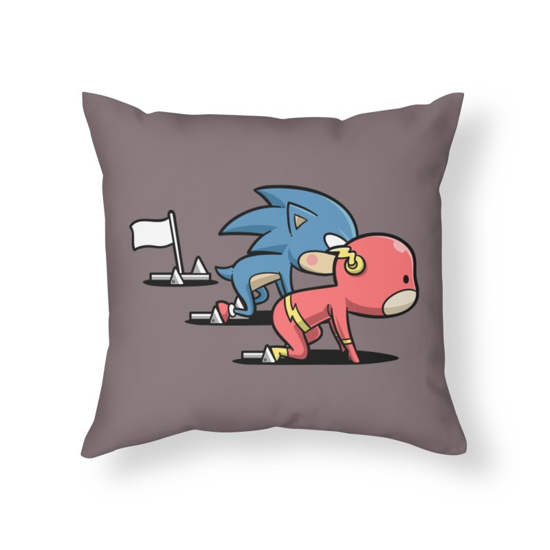 Sporty Buddy - Athletics Home Throw Pillow by Flying Mouse365