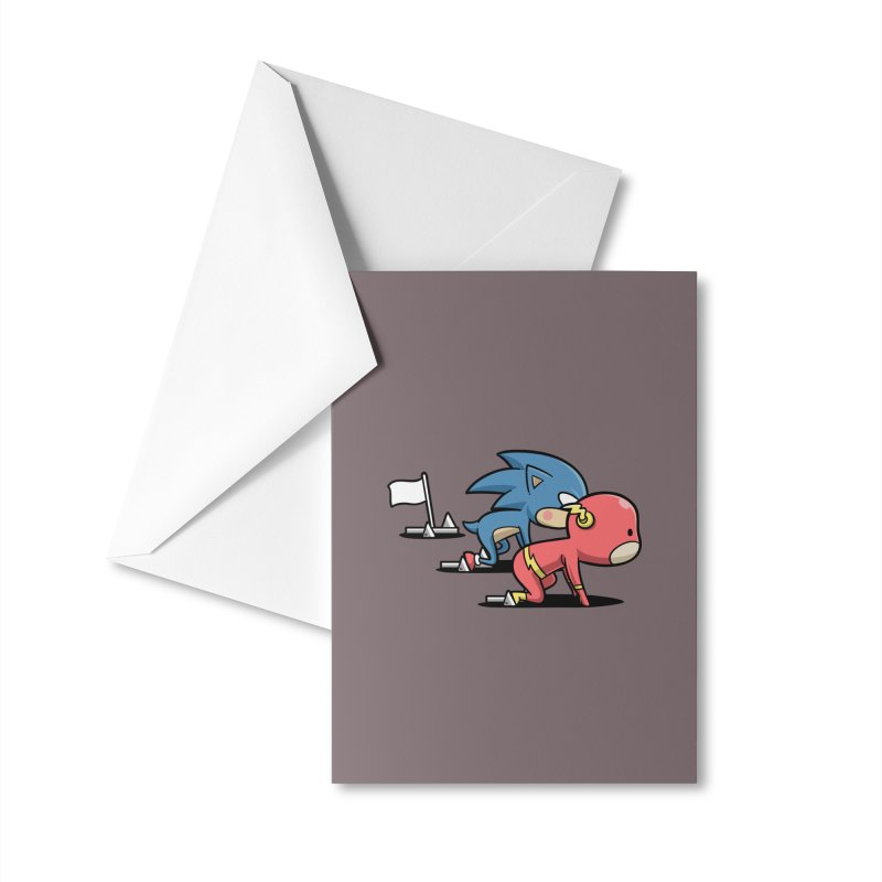 Sporty Buddy - Athletics Accessories Greeting Card by Flying Mouse365