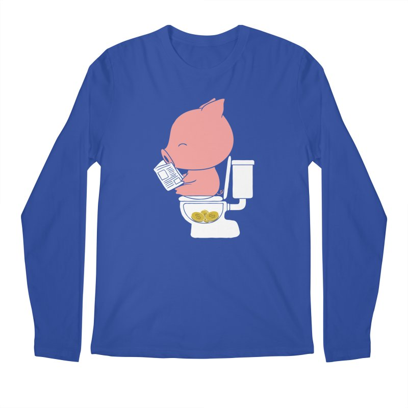 Cha Ching Men's Longsleeve T-Shirt by Flying Mouse365