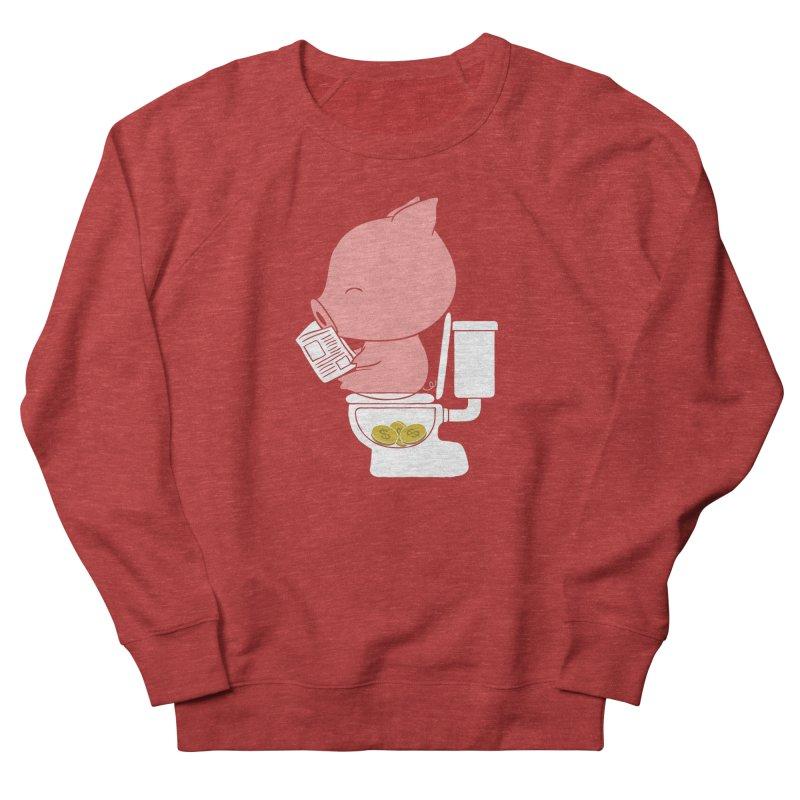 Cha Ching Women's Sponge Fleece Sweatshirt by Flying Mouse365
