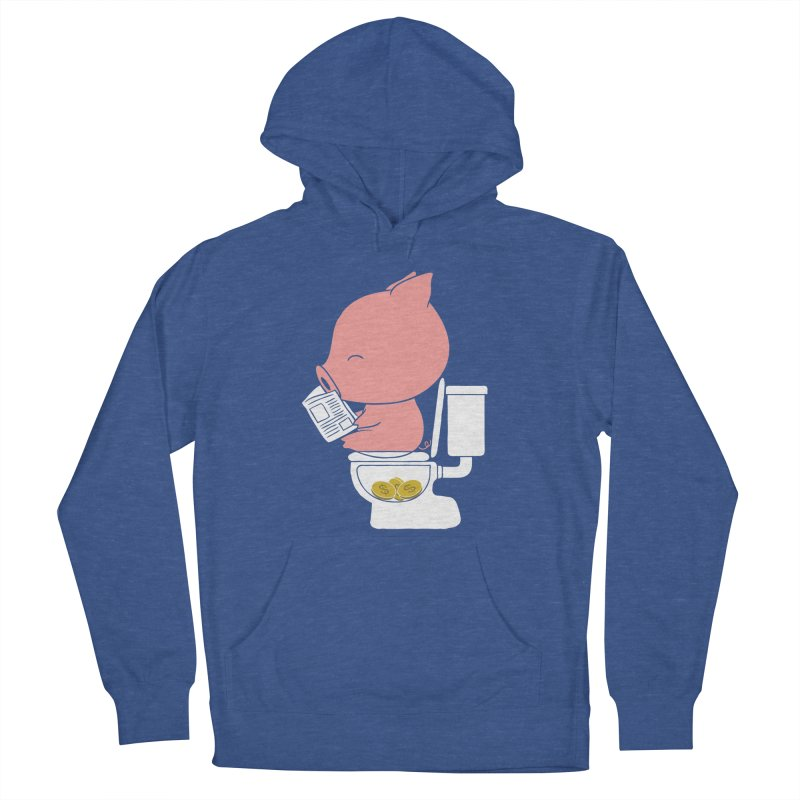 Cha Ching Men's French Terry Pullover Hoody by Flying Mouse365