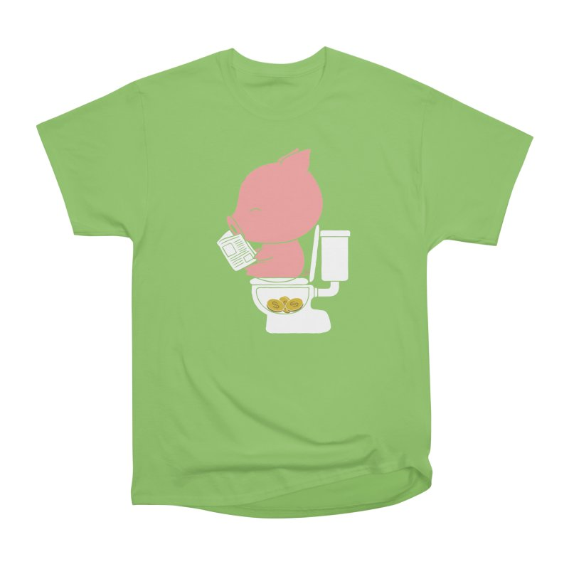 Cha Ching Men's Heavyweight T-Shirt by Flying Mouse365