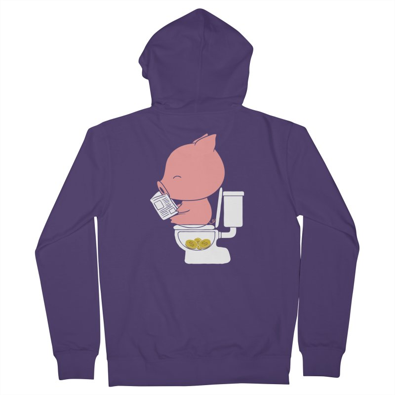 Cha Ching Women's Zip-Up Hoody by Flying Mouse365