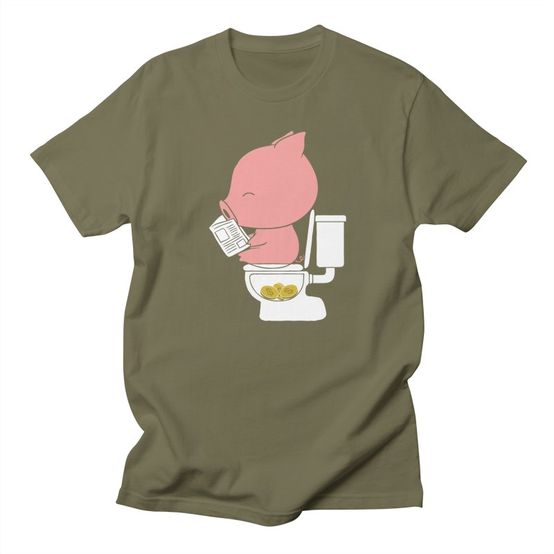 Cha Ching Men's T-Shirt by Flying Mouse365