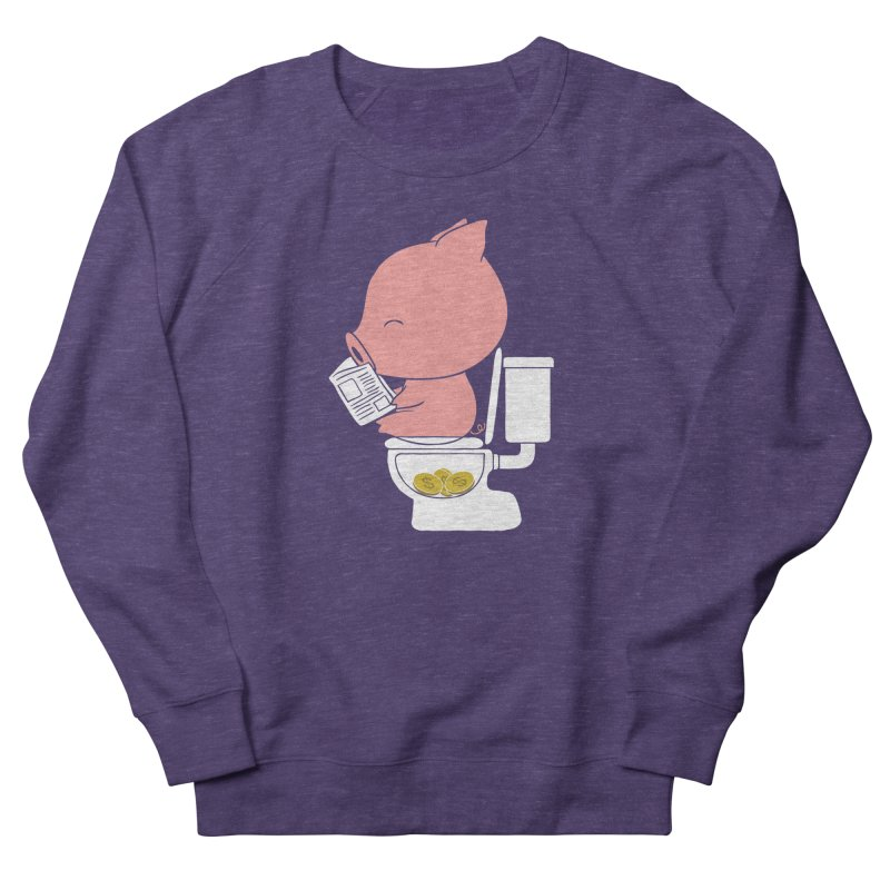Cha Ching Women's French Terry Sweatshirt by Flying Mouse365