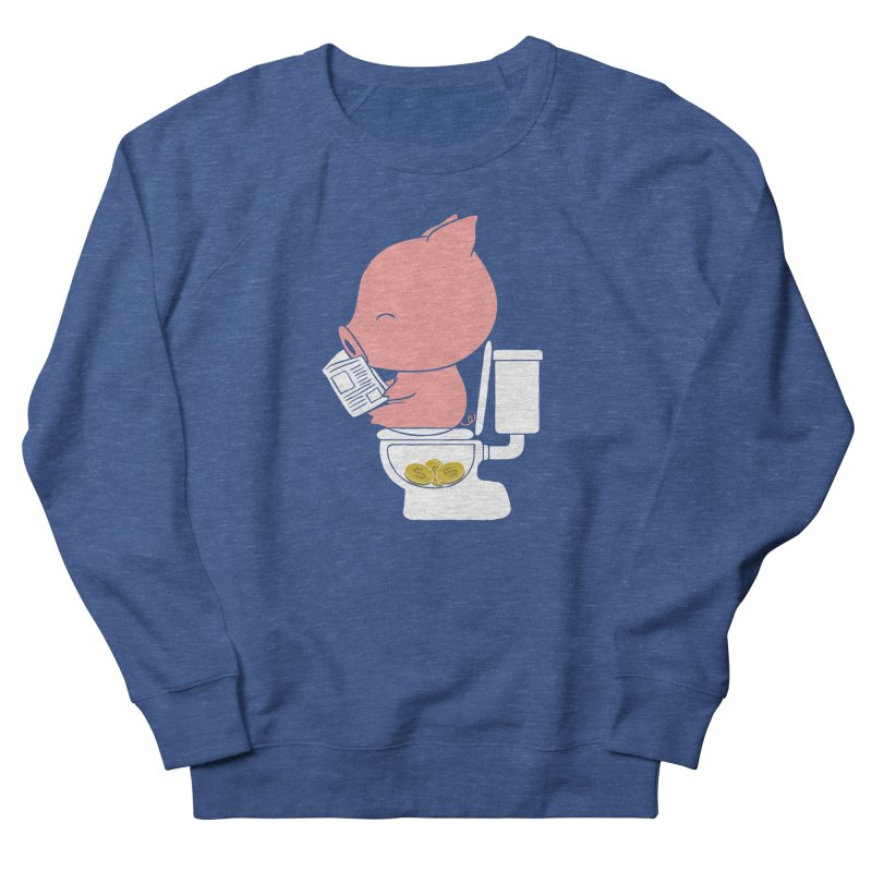 Cha Ching Men's French Terry Sweatshirt by Flying Mouse365