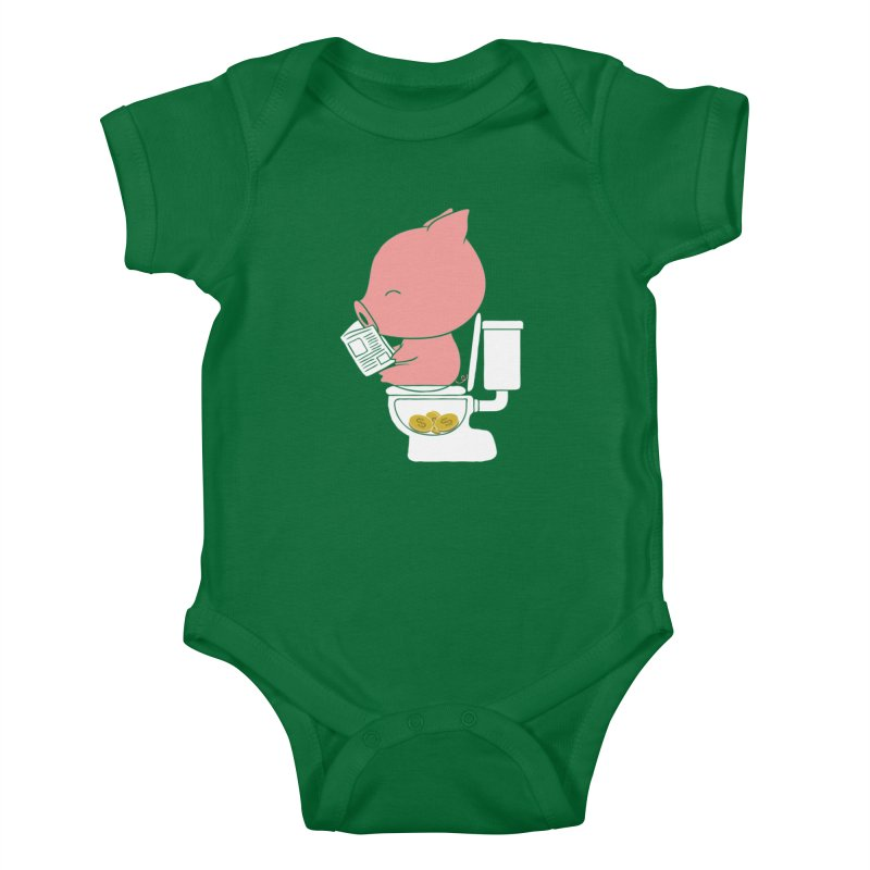 Cha Ching Kids Baby Bodysuit by Flying Mouse365