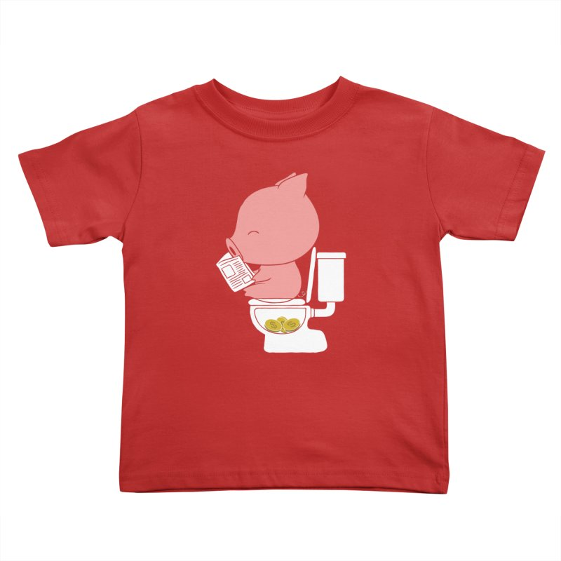 Cha Ching Kids Toddler T-Shirt by Flying Mouse365