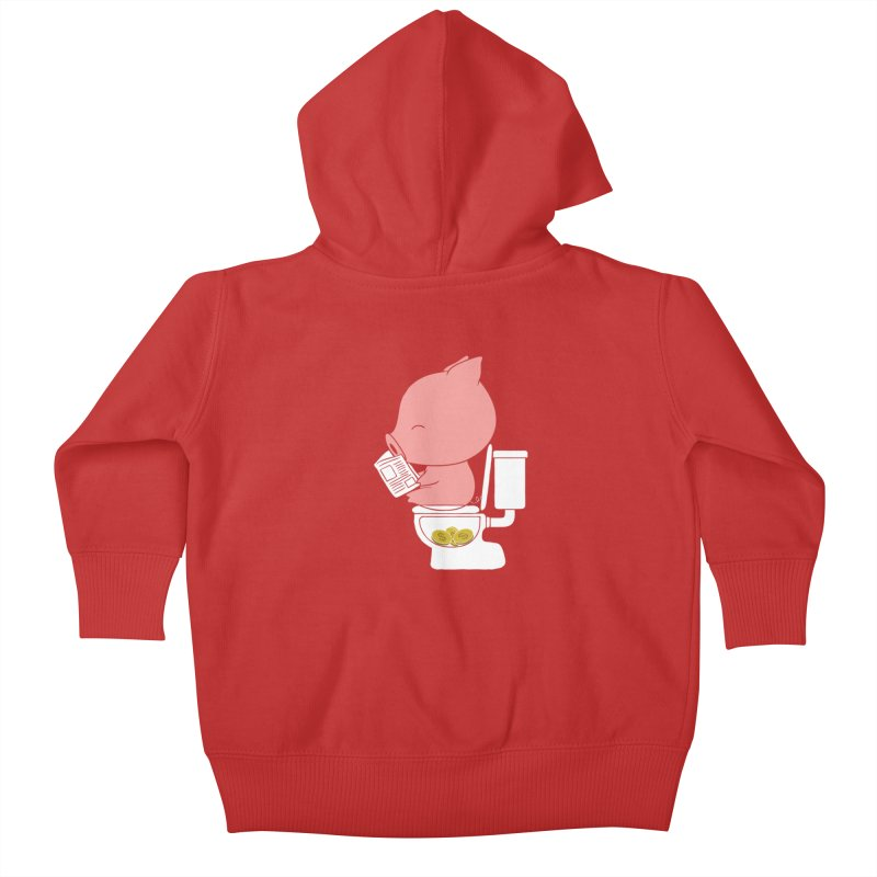 Cha Ching Kids Baby Zip-Up Hoody by Flying Mouse365