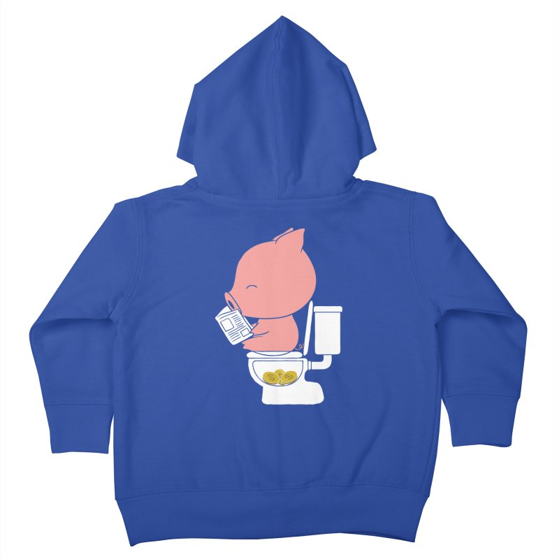 Cha Ching Kids Toddler Zip-Up Hoody by Flying Mouse365