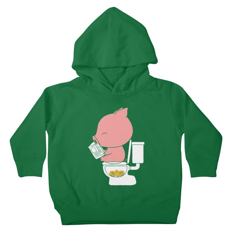 Cha Ching Kids Toddler Pullover Hoody by Flying Mouse365