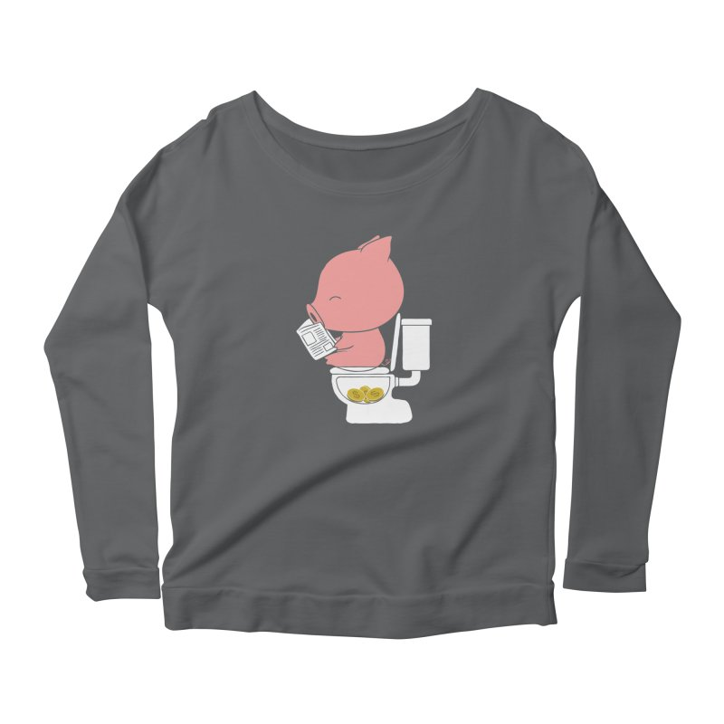 Cha Ching Women's Longsleeve T-Shirt by Flying Mouse365