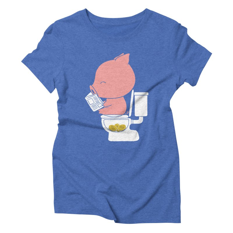 Cha Ching Women's T-Shirt by Flying Mouse365