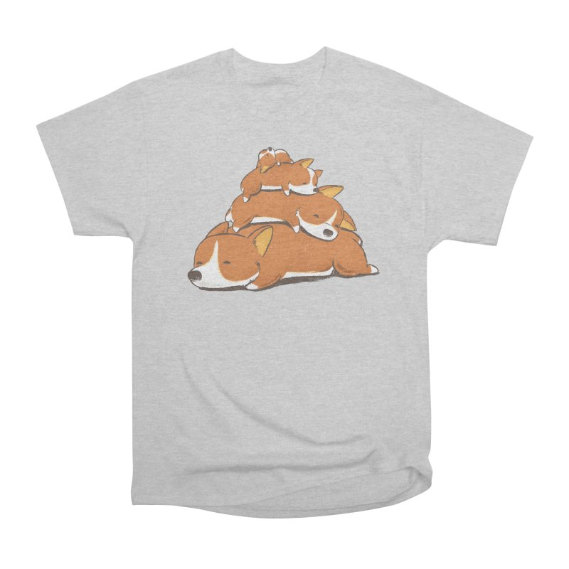 Comfy Bed - CORGI Men's T-Shirt by Flying Mouse365