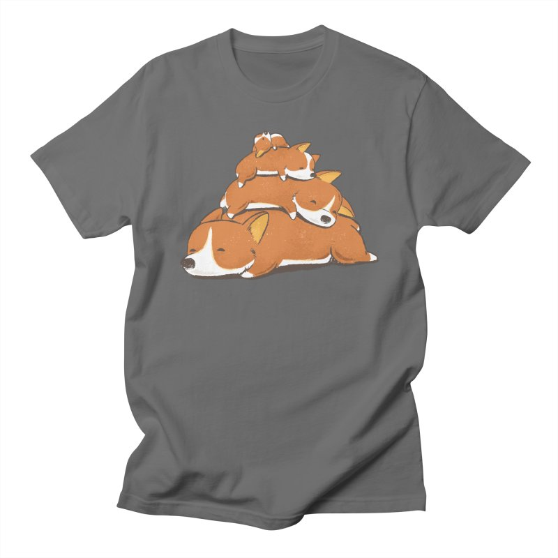 Comfy Bed - CORGI Women's Unisex T-Shirt by Flying Mouse365