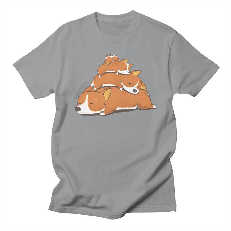 Comfy Bed - CORGI Women's Regular Unisex T-Shirt by Flying Mouse365