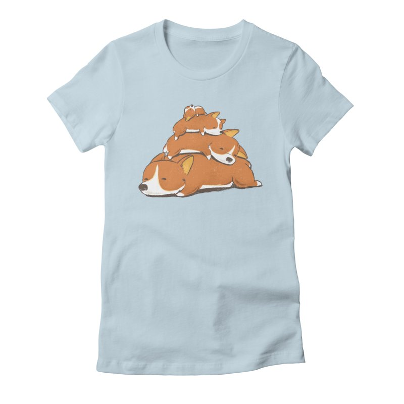 Comfy Bed - CORGI Women's  by Flying Mouse365