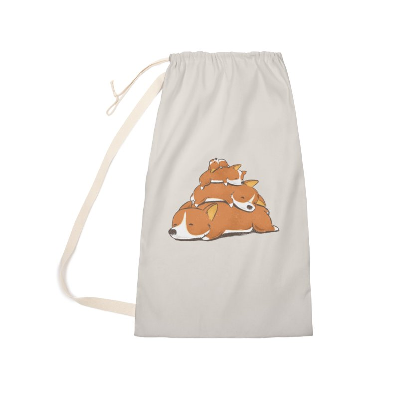 Comfy Bed - CORGI Accessories Bag by Flying Mouse365