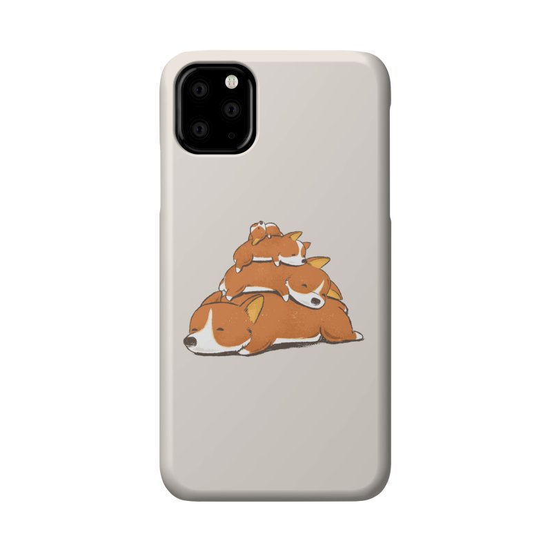 Comfy Bed - CORGI Accessories Phone Case by Flying Mouse365