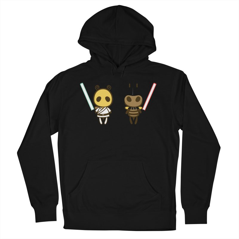 Bee Opposite - Good and Bad Men's Pullover Hoody by Flying Mouse365