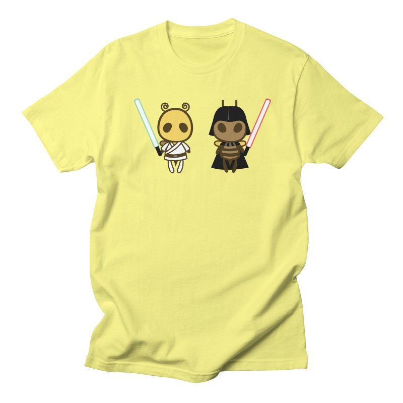 Bee Opposite - Good and Bad Men's T-Shirt by Flying Mouse365