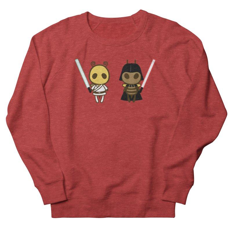 Bee Opposite - Good and Bad Women's Sponge Fleece Sweatshirt by Flying Mouse365