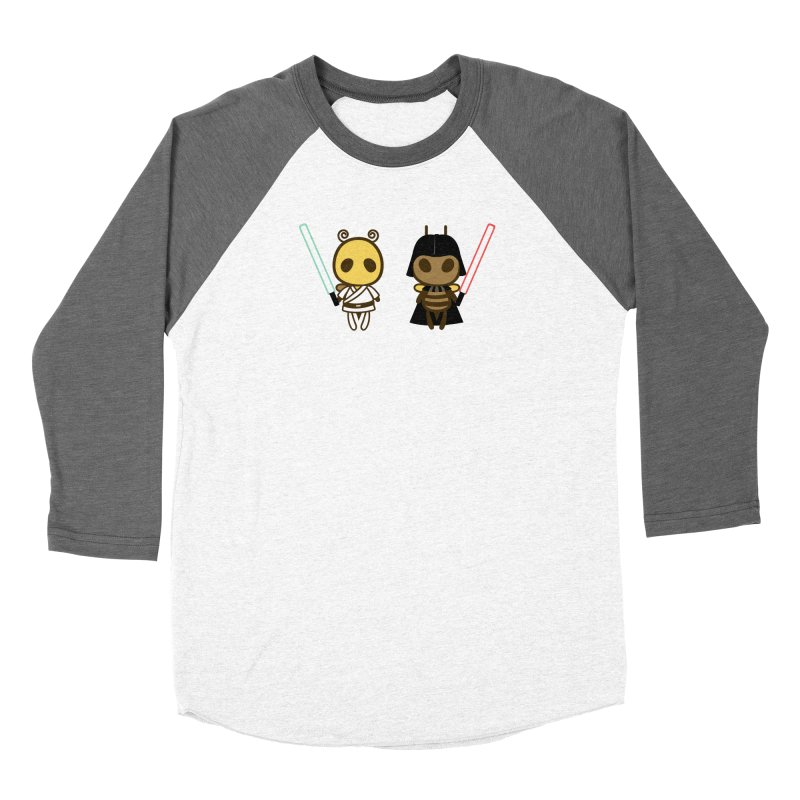 Bee Opposite - Good and Bad Women's Longsleeve T-Shirt by Flying Mouse365