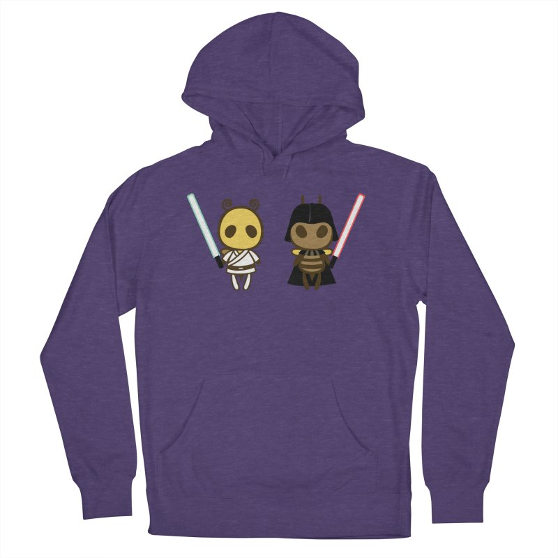 Bee Opposite - Good and Bad Women's French Terry Pullover Hoody by Flying Mouse365