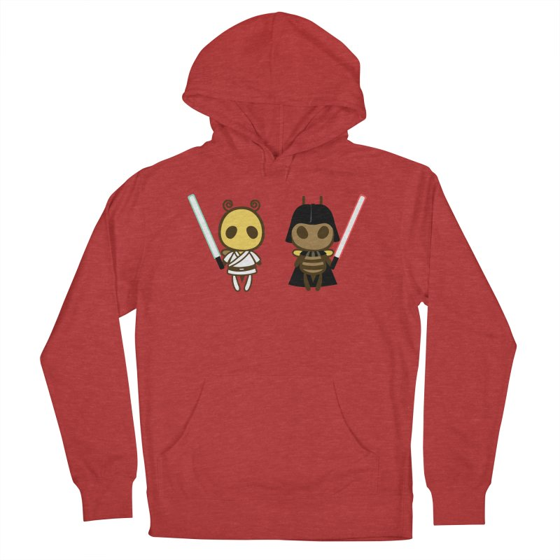 Bee Opposite - Good and Bad Women's Pullover Hoody by Flying Mouse365