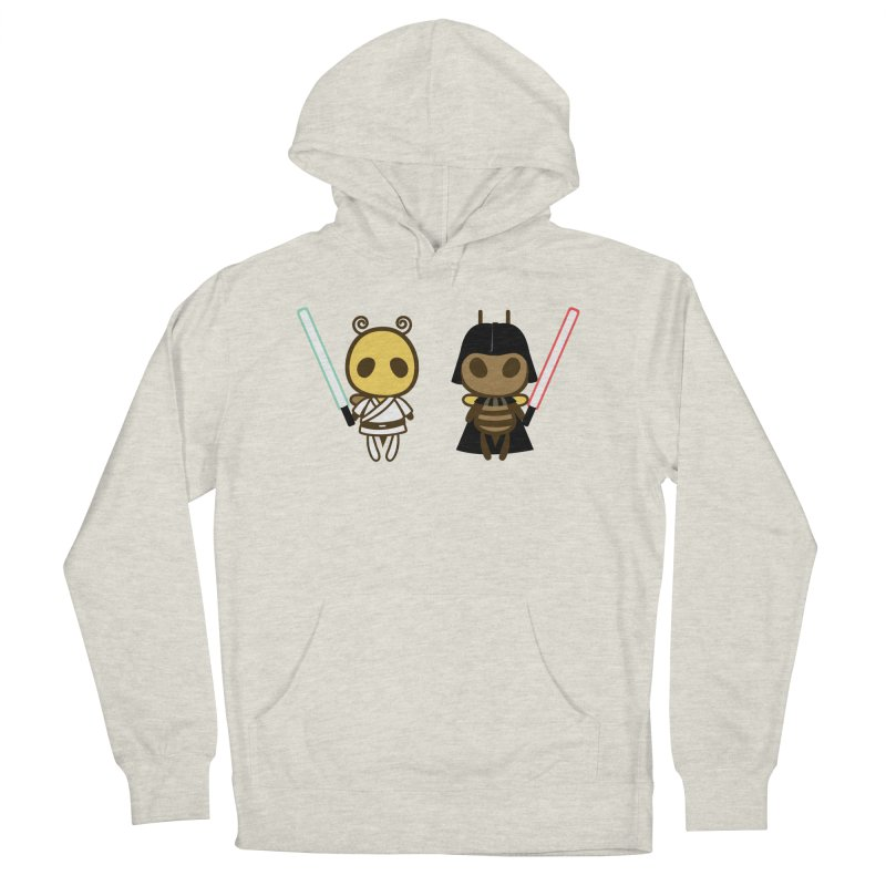 Bee Opposite - Good and Bad Men's French Terry Pullover Hoody by Flying Mouse365