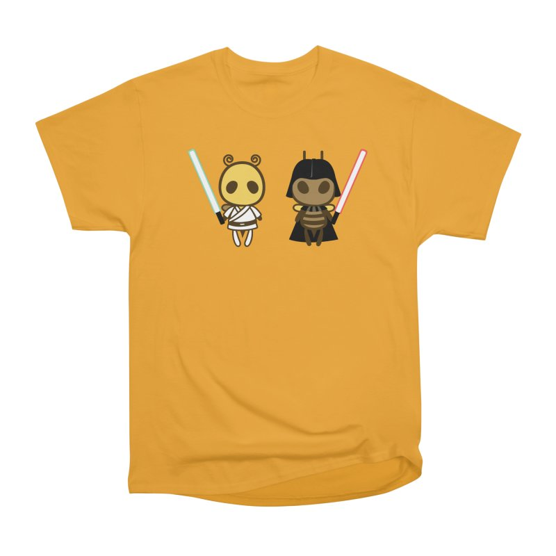 Bee Opposite - Good and Bad Women's Heavyweight Unisex T-Shirt by Flying Mouse365