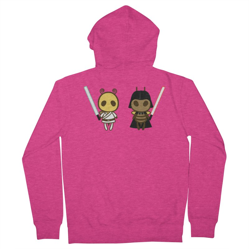 Bee Opposite - Good and Bad Women's Zip-Up Hoody by Flying Mouse365