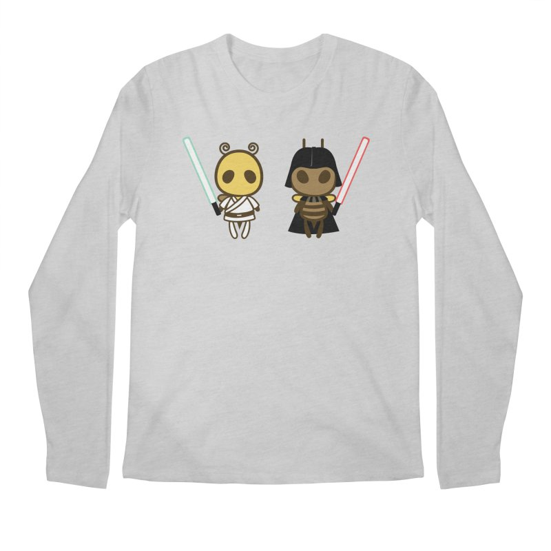 Bee Opposite - Good and Bad Men's Regular Longsleeve T-Shirt by Flying Mouse365