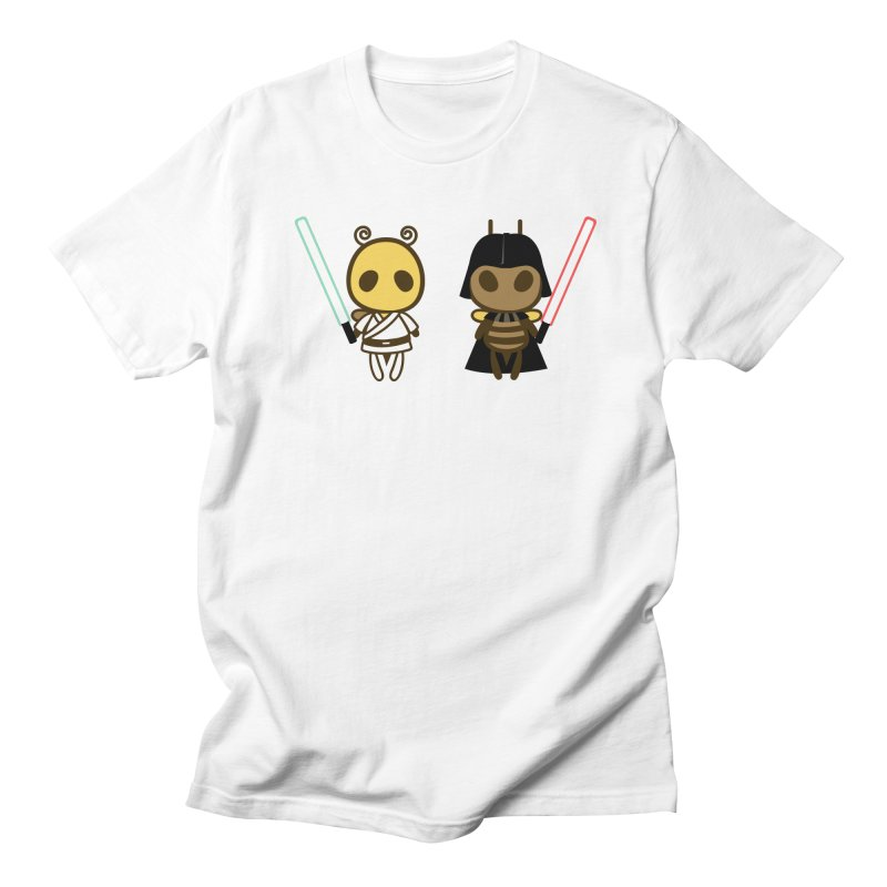 Bee Opposite - Good and Bad Women's Unisex T-Shirt by Flying Mouse365
