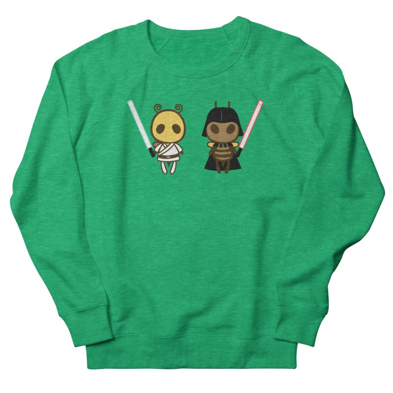 Bee Opposite - Good and Bad Women's French Terry Sweatshirt by Flying Mouse365