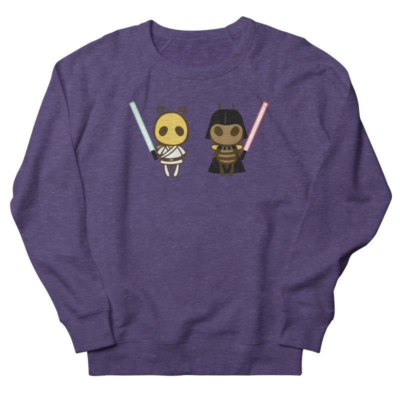 Bee Opposite - Good and Bad Men's French Terry Sweatshirt by Flying Mouse365