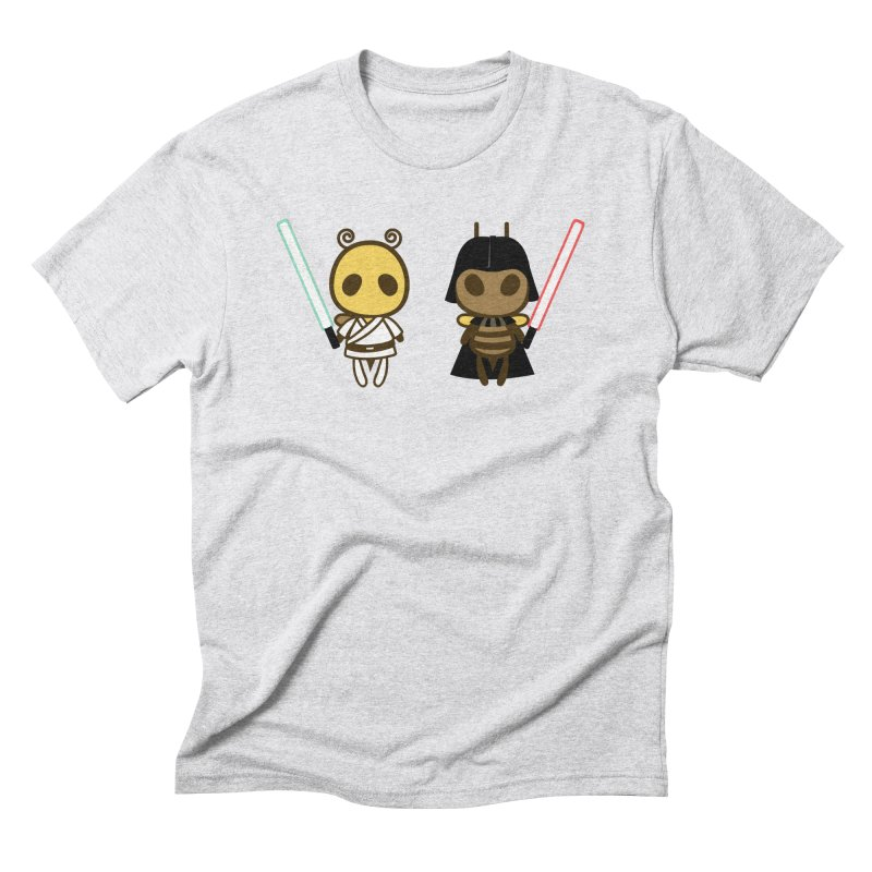 Bee Opposite - Good and Bad Men's Triblend T-Shirt by Flying Mouse365