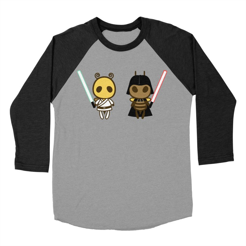 Bee Opposite - Good and Bad Women's Baseball Triblend Longsleeve T-Shirt by Flying Mouse365