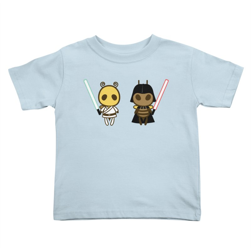 Bee Opposite - Good and Bad Kids Toddler T-Shirt by Flying Mouse365