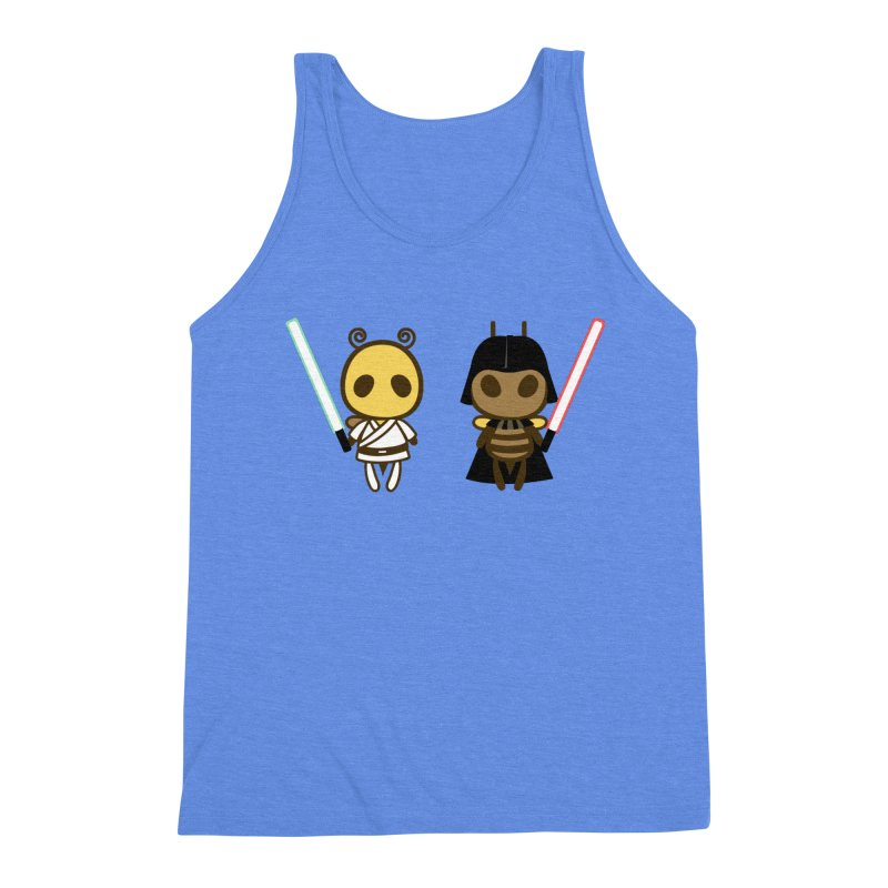 Bee Opposite - Good and Bad Men's Tank by Flying Mouse365