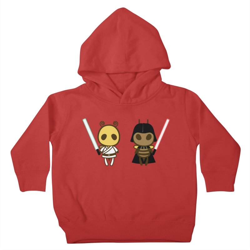 Bee Opposite - Good and Bad Kids Toddler Pullover Hoody by Flying Mouse365