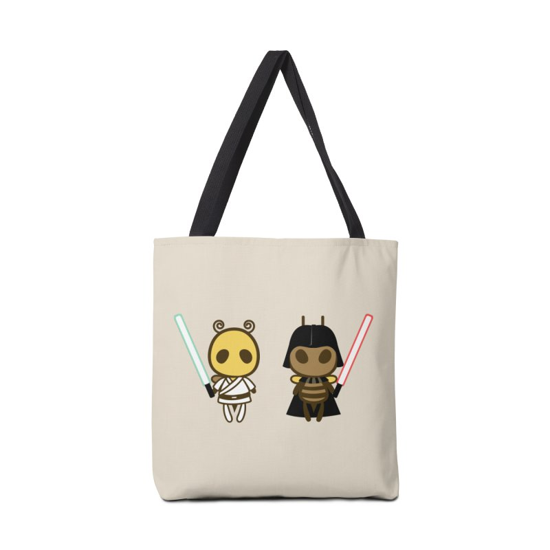 Bee Opposite - Good and Bad Accessories Tote Bag Bag by Flying Mouse365