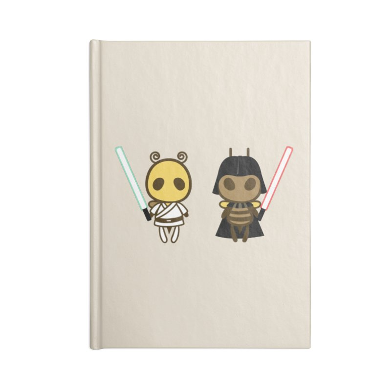 Bee Opposite - Good and Bad Accessories Notebook by Flying Mouse365